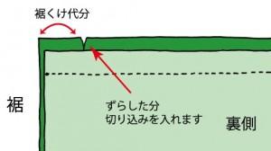 伏せ縫い1-2